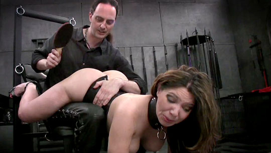 BDSM Dungeon Spanking