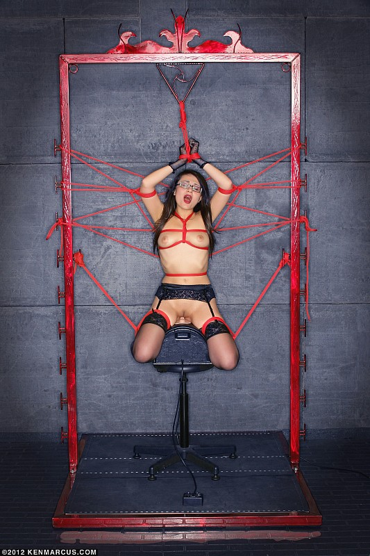 Bondage Tied and Forced Orgasms